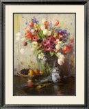Spring Flowers and Ginger Jar Prints by Fernand Toussaint