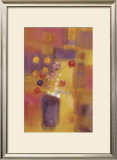 Welcoming Flowers I Art by Nancy Ortenstone