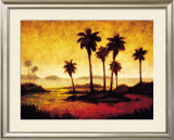Sunset Palms I Prints by Gregory Williams