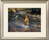 Western Highlands Framed Giclee Print by Arthur James Wether Burgess