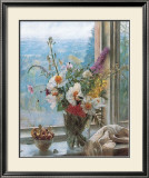 Still Life with Flowers and Chestnuts Art by Malcolm Milne