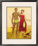 Fisherman, Hawaii Framed Giclee Print by John Kelly