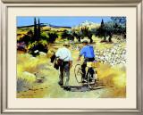 Vers le village Art by Andre Deymonaz
