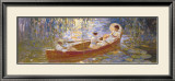 Boating on the Marsh Prints by James Hill