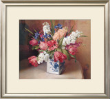 Tulips and Stock Art by F. Julia Bach