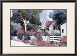 Cottonwood Lane Poster by Kent Wallis