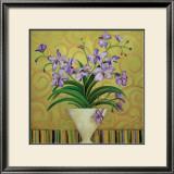 Purple Spring Art by Shelly Bartek