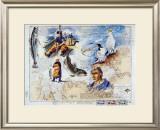 De l'Ile de Batz aux Sept Iles Prints by Gildas Flahault