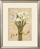Bouquet Bianco Print by Lisa Corradini