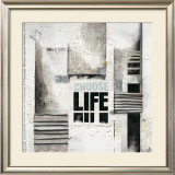 Choose Life Prints by Marie Louise Oudkerk