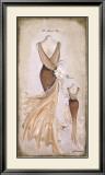 Vestido Beige Posters by Luisa Romero