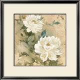 White Flowers I Prints by Jil Wilcox