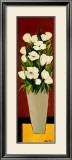 Grey Vase Print by Hans Paus