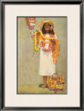 The Story of Hawaii, Lei Framed Giclee Print by John Kelly
