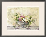 Floral Poster by Caroline Caron
