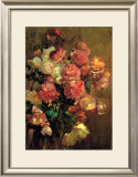 Roses Posters by Franz Arthur Bischoff