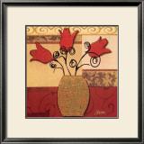 Tulip Trio Poster by Jill Barton
