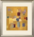 Song in Gold Prints by Nancy Ortenstone