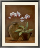 Orchid Antiquity II Art by Jane Tava