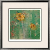 Green Floral I Limited Edition Framed Print by Maeve Harris