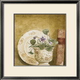 Potted Flowers with Books VIII Posters by Eric Barjot