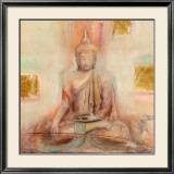 Buddha I Prints by Elvira Amrhein