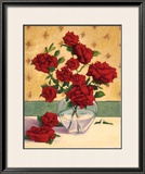 Rue Cler Roses I Prints by Linda Hanly