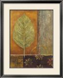Copper Leaf Posters by Viola Lee
