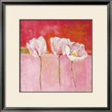 Fleurs en Rose II Posters by Isabelle Herbert