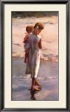 Morning Walk Poster by Nancy Seamons Crookston