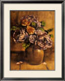 Vintage Chic Roses II Posters by Linda Hanly