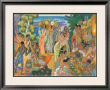 Island Feast Framed Giclee Print by Eugene Savage