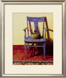 Blue Chair Art by Ned Young