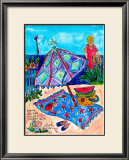 Picnic at the Beach Prints by Deborah Cavenaugh