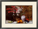 Still Life with Azaleas Art by F. Janca