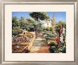 Flower Garden Prints by Manuel Garcia Y Rodriguez