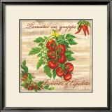 Tomates en Grappe Art by Noel Romero