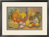 Mediterranean Kitchen II Prints by Karel Burrows