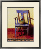 Blue Chair Prints by Ned Young