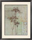 Silver Foliage II Art by Ella K.
