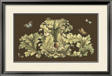 Nature's Splendor on Chocolate I Prints by Michel Pergolesi