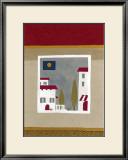 Hilltop Village Prints by Muriel Verger