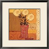 Floral Bouquet Print by Jill Barton