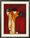 Three Wise Man II Art by Gisela Ueberall