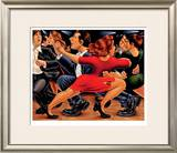 Paint The Town Red Limited Edition Framed Print by Graham Mckean