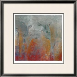 Garden I Limited Edition Framed Print by Maeve Harris