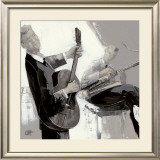 La Guitare Prints by Bernard Ott