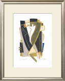 Black Gold IV Print by Alfred Gockel