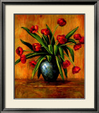 Red Tulips Prints by Brian Francis