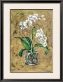 Flores Blancas I Prints by A. Vega